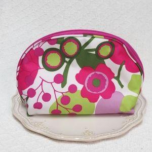 Clinique Retro Floral Makeup Bag